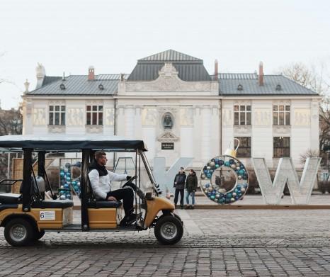 Visita Turistica En Cracovia En Vehiculos Ecologicos