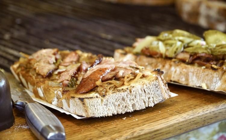 Krakow food tour bread